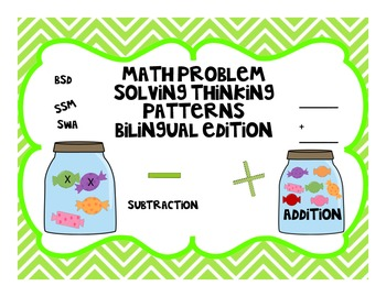 Math Problem Solving Thinking Patterns Bilingual Edition