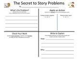 Math Problem Solving Work Mat