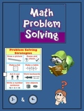 Math Problem Solving Workbook - Word Problems for your Thi