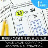 Place Value | Number Sense | Comparing Two Digit Numbers