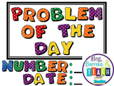 Math Problem of the Day Activities