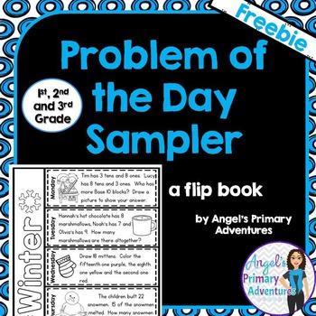 Math Problem of the Day  - FREEBIE