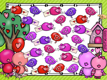 SmartBoard Math Problem of the Day: English - Valentine's Day, 100 Day
