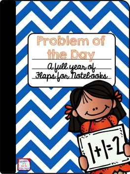 Math Problem of the Day Flaps for the Entire Year