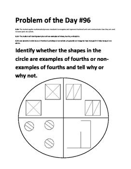 Math Problem of the Day TEK 2.3D