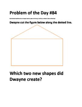 Math Problem of the Day (TEKS 2.8AB)