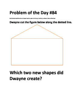 Math Problem of the Day (TEKS 2.8AB)