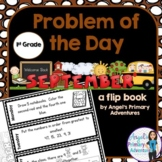 Math Problem of the Day for First Grade:  September