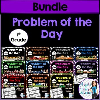 Math Problem of the Day for First Grade:  THE BUNDLE