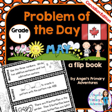 Math Problem of the Day for Grade 1:  May (Canadian Edition)