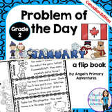 Math Problem of the Day for Grade 2:  January (Canadian Edition)
