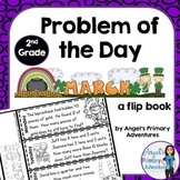 Math Problem of the Day for Second Grade:  March