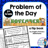 Math Problem of the Day for Second Grade:  November