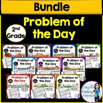 Math Problem of the Day for Second Grade:  THE BUNDLE