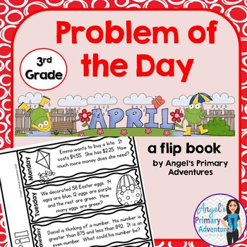 Math Problem of the Day for Third Grade: April