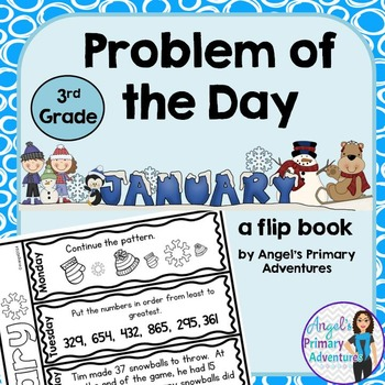 Math Problem of the Day for Third Grade: January