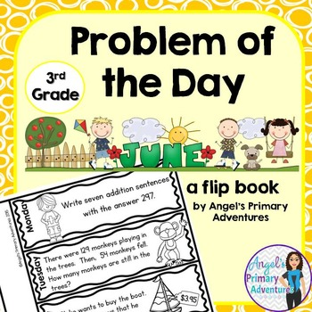 Math Problem of the Day for Third Grade: June