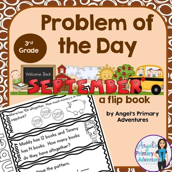 Math Problem of the Day for Third Grade:  September