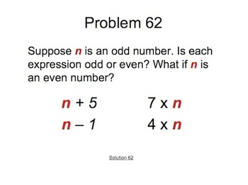 Math Problems of the Day 1-100