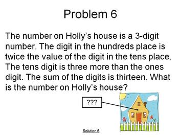 Math Problems of the Day 1-25