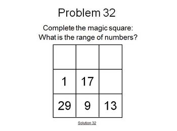 Math Problems of the Day 26-50