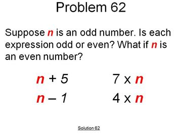 Math Problems of the Day 51-75