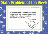Math Problems of the Week (103 problems) + A3 poster!