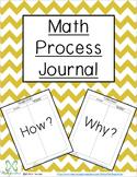 Math Process Journal