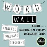 Math Processes Word Wall