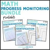 Math Progress Monitoring BUNDLE!
