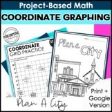 Math Project-Based Learning: Coordinate Graphing | 5th Grade Math