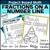 Math Project-Based Learning: Fractions on a Number Line |