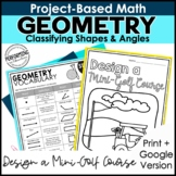 Math Project-Based Learning: Geometry | Classify Shapes &