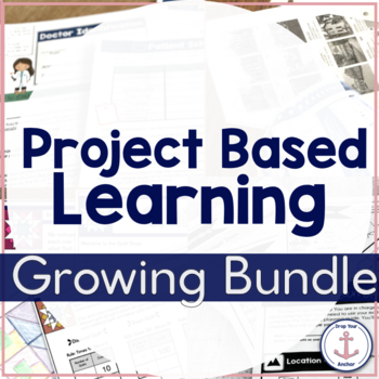 Math Project Based Learning Growing Bundle - 3rd 4th 5th