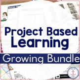 Math Project Based Learning Growing Bundle - 3rd 4th 5th d