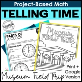 Math Project-Based Learning: Tell Time, Write Time, Elapse