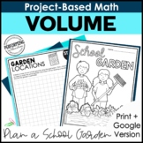 Math Project-Based Learning: Volume Project | Project-Base