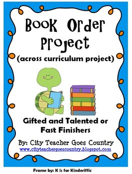 Math Project - Book Orders - real life project (math, reading, & writing skills)