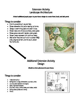 Math Project-Design a Home/Area & Perimeter