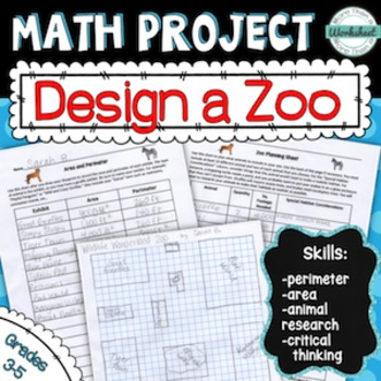 Math project design a zoo by more than a worksheet tpt math project design a zoo malvernweather Image collections
