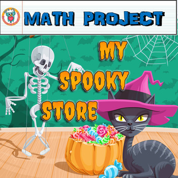 Halloween Math Activity: My Spooky Store {Math Project}