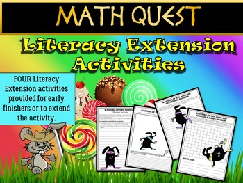 Easter Math Quest: Differentiated Bundle (FUN Spring Activity + Easter Activity)
