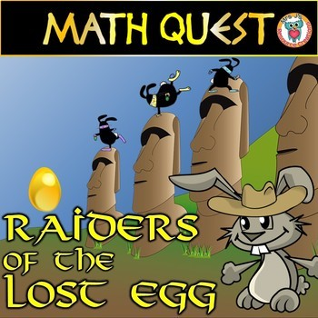 Easter Math Quest: Differentiated Set(FUN Spring Activity + Easter Activity)