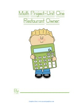 Math Project Packet For Students-Number Sense