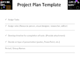 Math Project Plan Template (for group work)