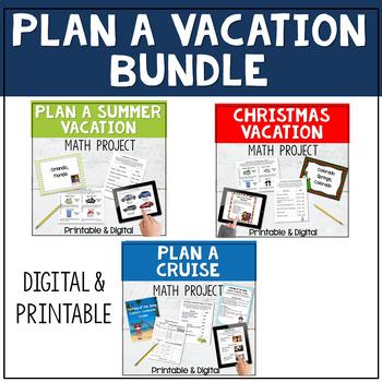Math Project - Plan a Vacation Bundle
