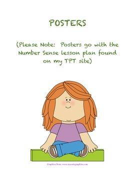 Math Project Poster For Teachers-Number Sense