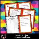 Math Project School Celebration