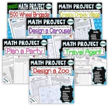 Math Project Super Bundle
