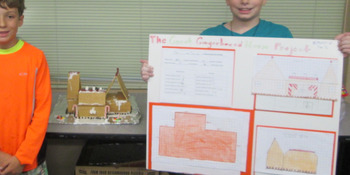 Winter Math Project: The Great Gingerbread House Project
